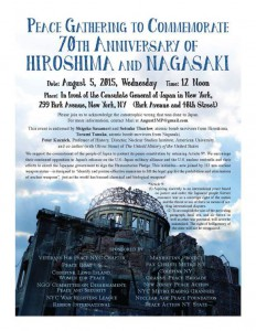 Commemoration Flyer